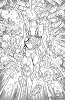 THE FLASH: AN ADULT COLORING BOOK TP