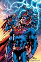 SUPERMAN: THE COMING OF THE SUPERMEN HC