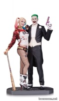 SUICIDE SQUAD MOVIE THE JOKER AND HARLEY QUINN STATUE