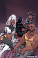 BLACK PANTHER #7 (Marguerite Sauvage Variant)