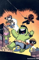 CHAMPIONS #1 (Skottie Young Variant)