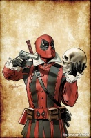 DEADPOOL #21 (Shakespeare Variant)