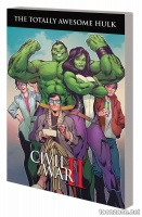 THE TOTALLY AWESOME HULK VOL. 2: CIVIL WAR II TPB