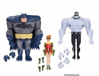 BATMAN: THE ANIMATED SERIES BATMAN, ROBIN AND MUTANT LEADER ACTION FIGURE 3-PACK