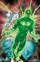 HAL JORDAN AND THE GREEN LANTERN CORPS #10-11
