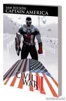 CAPTAIN AMERICA: SAM WILSON VOL. 3 —  CIVIL WAR II TPB