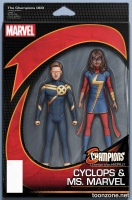 CHAMPIONS #3 (Action Figure Variant)