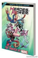 HEROES OF POWER: THE WOMEN OF MARVEL -  ALL-NEW MARVEL TREASURY EDITION TPB