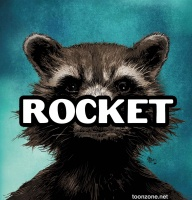 ROCKET RACCOON #1 (Hip-Hop Variant)