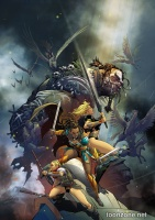 THE ODYSSEY OF THE AMAZONS #1