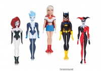 THE NEW BATMAN ADVENTURES: GIRLS' NIGHT OUT: BATGIRL, HARLEY QUINN, LIVEWIRE, POISON IVY AND SUPERGIRL ACTION FIGURE 5-PACK