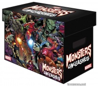 MARVEL GRAPHIC COMIC BOXES - MONSTERS UNLEASHED