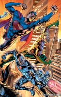 JUSTICE LEAGUE OF AMERICA: POWER AND GLORY HC