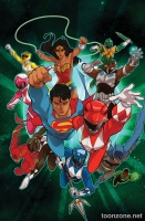 JUSTICE LEAGUE/POWER RANGERS #2