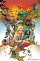 THE KAMANDI CHALLENGE #2 (Variant Cover)
