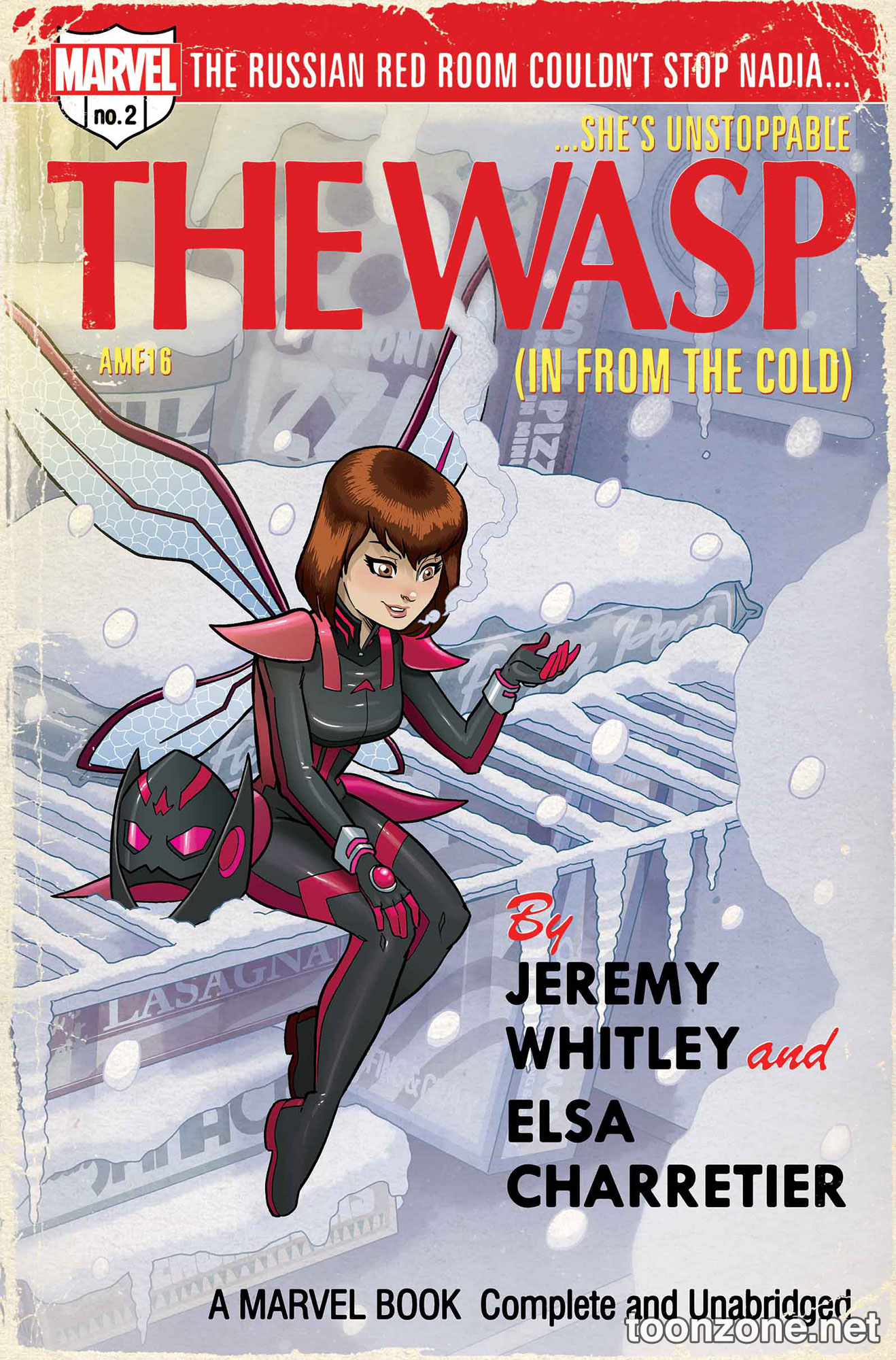 THE UNSTOPPABLE WASP #2 (Variant Cover)