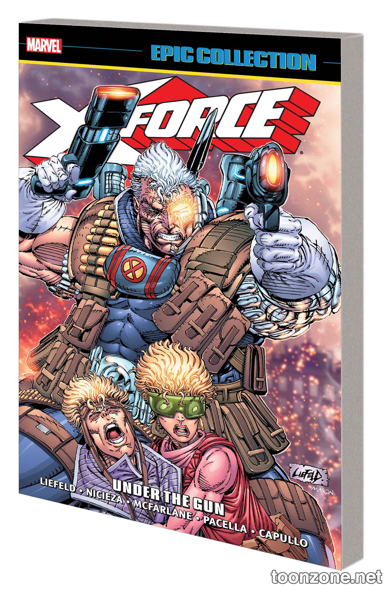 X-FORCE EPIC COLLECTION: UNDER THE GUN TPB