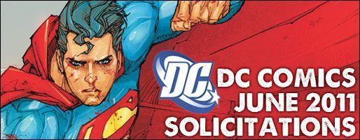 DC Comics Solicitations - On Sale Jun 2011