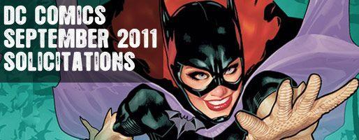 DC Comics Solicitations - On Sale Sep 2011
