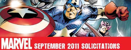 Marvel Comics Solicitations - On Sale Sep 2011
