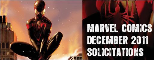 Marvel Comics Solicitations - On Sale Dec 2011