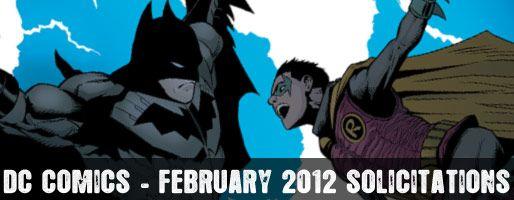 DC Comics Solicitations - On Sale Feb 2012
