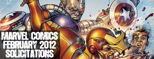 Marvel Comics Solicitations - On Sale Feb 2012