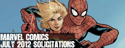 Marvel Comics Solicitations - On Sale Jul 2012