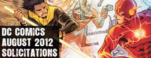 DC Comics Solicitations - On Sale Aug 2012