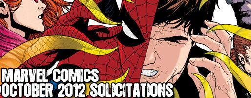 Marvel Comics Solicitations - On Sale Oct 2012