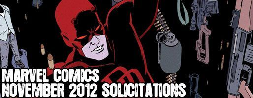 Marvel Comics Solicitations - On Sale Nov 2012