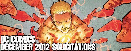 DC Comics Solicitations - On Sale Dec 2012