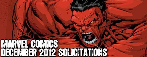 Marvel Comics Solicitations - On Sale Dec 2012