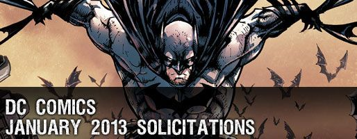 DC Comics Solicitations - On Sale Jan 2013