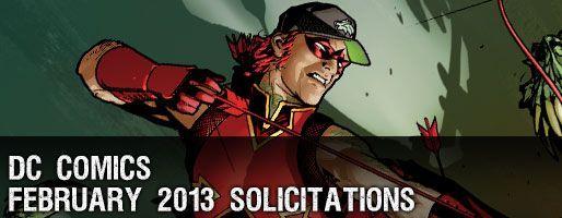 DC Comics Solicitations - On Sale Feb 2013