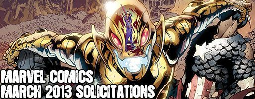 Marvel Comics Solicitations - On Sale Mar 2013