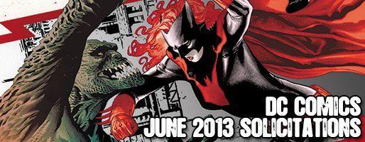 DC Comics Solicitations - On Sale Jun 2013