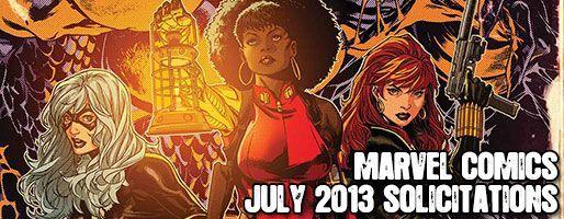 Marvel Comics Solicitations - On Sale Jul 2013