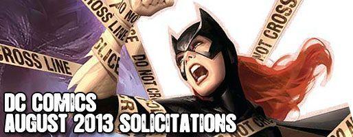 DC Comics Solicitations - On Sale Aug 2013