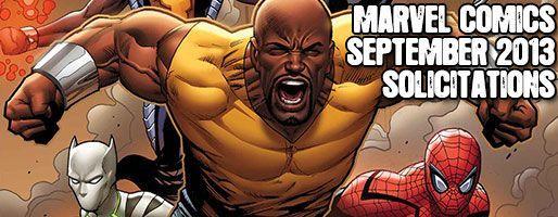 Marvel Comics Solicitations - On Sale Sep 2013