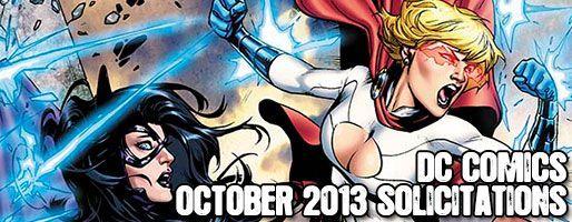 DC Comics Solicitations - On Sale Oct 2013