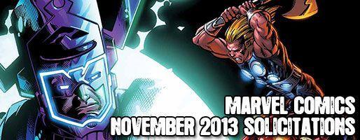 Marvel Comics Solicitations - On Sale Nov 2013