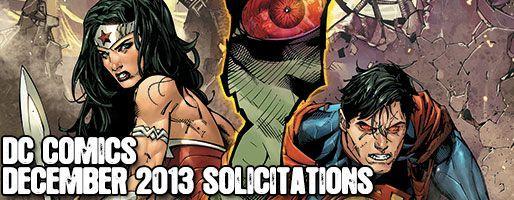 DC Comics Solicitations - On Sale Dec 2013