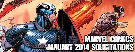Marvel Comics Solicitations - On Sale Jan 2014