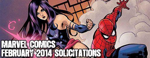 Marvel Comics Solicitations - On Sale Feb 2014