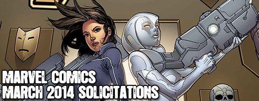 Marvel Comics Solicitations - On Sale Mar 2014