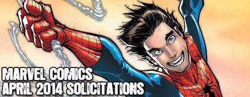 Marvel Comics Solicitations - On Sale Apr 2014