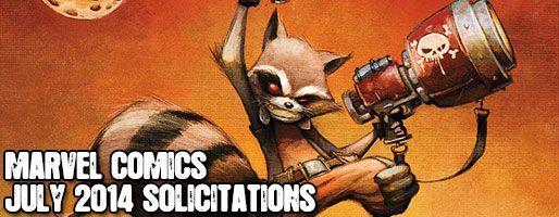 Marvel Comics Solicitations - On Sale Jul 2014