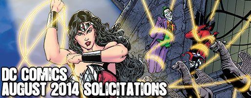 DC Comics Solicitations - On Sale Aug 2014