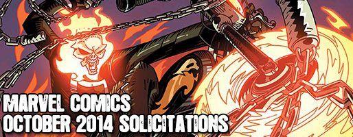 Marvel Comics Solicitations - On Sale Oct 2014
